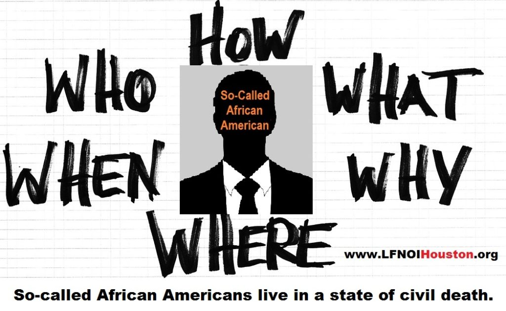 African American Civil Death Graphic